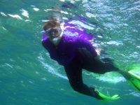 Snorkeling with MY Sister and Andy at Beach 69!  Photo ©2007 Andrew Cooper behind the lens!