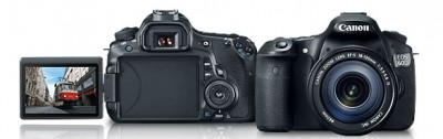 The Canon 60D DSLR camera, image credit: Canon USA